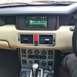 Range Rover Evogue fitted Pioneer AVH A210BT Stereo