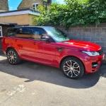 Range Rover Sport Car Audio Upgrade