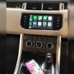 Range Rover Sport Installation Apple CarPlay Wireless Interface