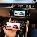 Range Rover Sport Phone Mirroring Interface