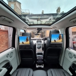 Range Rover Vogue fitted 12.5inch Headrest Screens