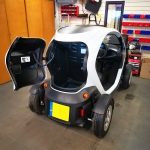 Rear Parking Sensors Fitted in Renault Twizy