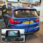 Reverse Camera Interface onto OEM in BMW 2 Series Tourer