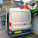 Reverse Camera and Monitor in Ford Transit Van