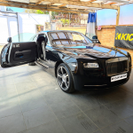Rolls Royce Wraith fitted Pioneer Dash Camera