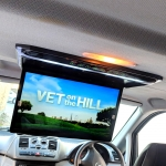 Roof Screen 15 Inch Installation in Mercedes Vito