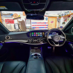 S Class 2016 fitted Apple CarPlay Interface