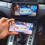 Screen Mirroring in BMW M3 E46 2003