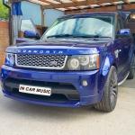 Tracker Installation in Range Rover Sport Cosworth