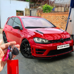 VW Golf R 2015 fitted Meta Trak S5 GPS Tracking System