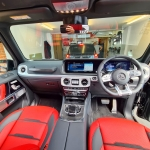 Vodafone Cat S5 Tracking System fitted in G Wagon 2020