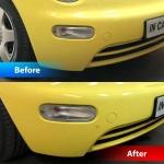 Volkswagen Beetle Installed Front and Rear Parking Sensors