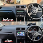 Volkswagen Polo Apple CarPlay Stereo