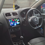 Volkswagen Polo Stereo Upgrade 9inch QLED with CarPlay