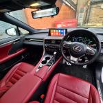 Wireless Apple CarPlay Android Auto Phone Mirroring in Lexus RX