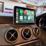 Wireless Apple CarPlay in Mercedes GLA Class