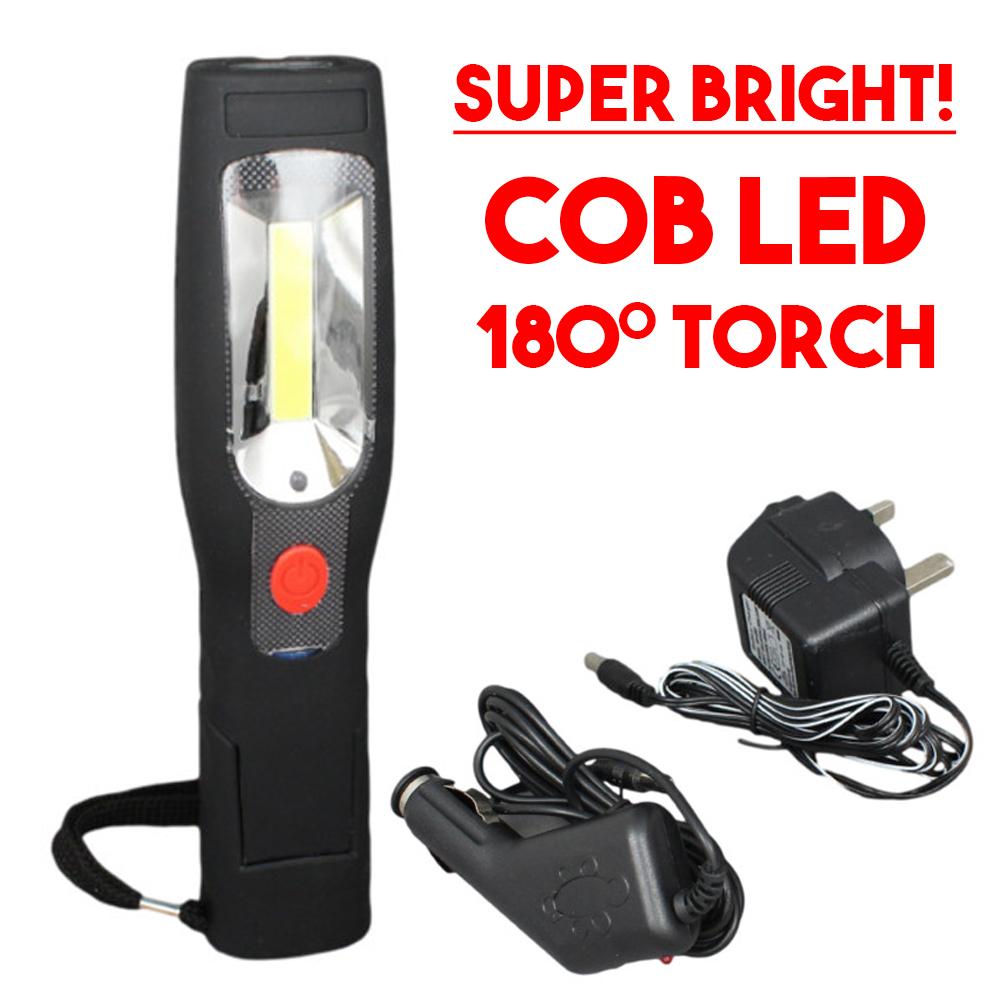 Sans Fil Garage Lampe Lumière de Voiture Atelier Led Mécanicien Rechargeable